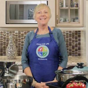 food for life instructor - plant-based cooking coach laurie beck